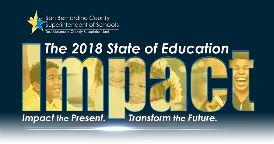 State of education Impact graphic